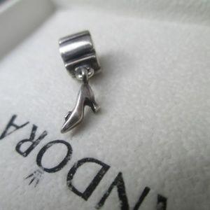 Pandora dangle heel sterling silver